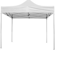 GAZEBO EASY UP WHITE  300x450x210/240/342cm