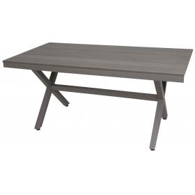 POLYWOOD ALUM TABLE L160ΧW85ΧH72cm
