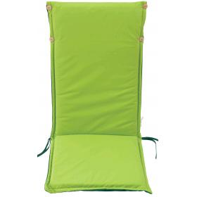 LIGHT GREEN CUSHION HIGH BACK DOUBLE FACE 119Χ48Χ4cm - BARCO