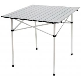 ALUMINUM COLLAPSIBLE TABLE IN BAG  L70ΧW70ΧH70cm