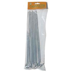 TENT PEGS SET OF 10PCS 30cm BARCODE:8713899011935