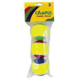 SET TENNIS BALLS IN BAG TWO COLOR WEIGHT:165gr BARCODE:52034