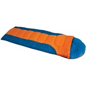 SLEEPING BAG LAGUNA BLUE/ORANGE 220Χ75cm WITH PILLOW,TEMPERA