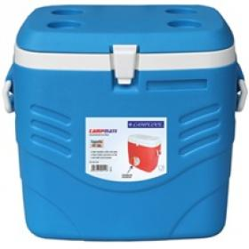 POLTABLE COOLBOX 40LT WITH HANDLES CAMPCOOL