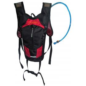 BACK PACK BIKE 6 Lit, BLACK INCLUDED:WATER BAG ,5Λιτ WITH CH
