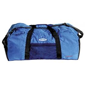 TRAVEL BAG BUBBLE 60 Lit BLUE FABRIC: POLYESTER 600D-BARCODE