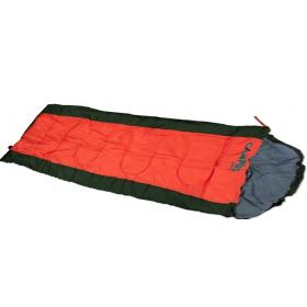SLEEPING BAG LAGUNA ARMY GREEN 220Χ75cm WITH PILLOW,TEMPERAT
