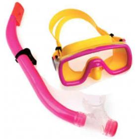 CHILDREN SET MASK & SNORKEL PVC BARCODE:5203464021863