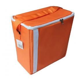COOLBAG 17LT DIMENSIONS:30*18*35cm RED COLOR-BARCODE: 520346