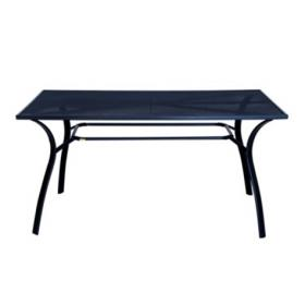 METAL TABLE GREY L150ΧW90ΧH73cm
