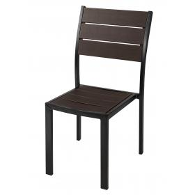 CATERING CHAIR WOOD IMITATION DIMENSIONS: 57*45,5*88,5cm