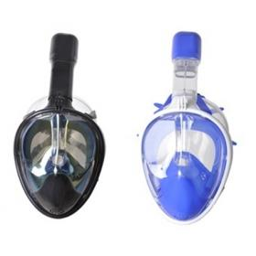 FULL FACE SILICONE  MASK BLUE or BLACK