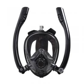 SILICONE MASK FULL FACE  BLACK