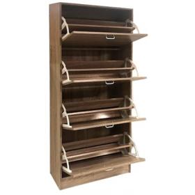 SHOES CABINET MAPLE -DIMENSIONS:W63ΧD24XH150