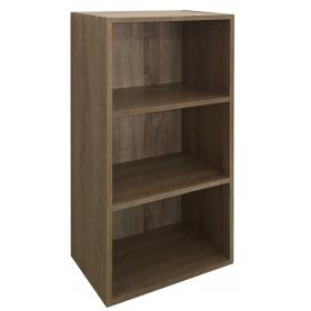 BOOKSHELVES -MAPLE COLOR -DIMENSIONS:W40ΧD24XH80cm