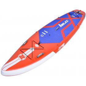 ZRAY SUP F2 RED DIMENSIONS:335*84*15cm WITH 3 FLAPS