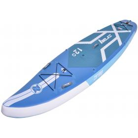 ZRAY SUP F4 BLUE DIMENSIONS:365*84*15cm WITH 3 FLAPS